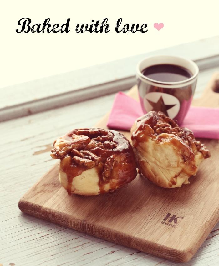sticky caramel buns-1
