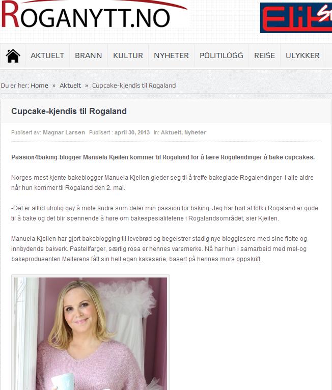 Manuela Kjeilen til Rogaland