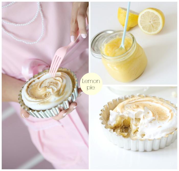 Mini Lemon Meringues Pai
