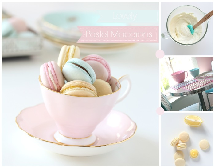 Lovely Pastel Macarons Passion 4 Baking Get Inspired