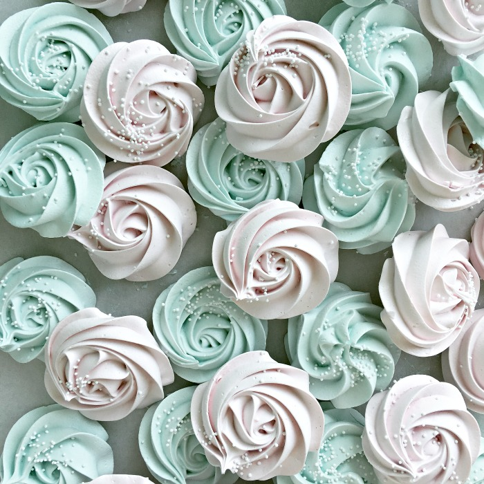 Meringue Rose Cookies Passion For Baking Get Inspired