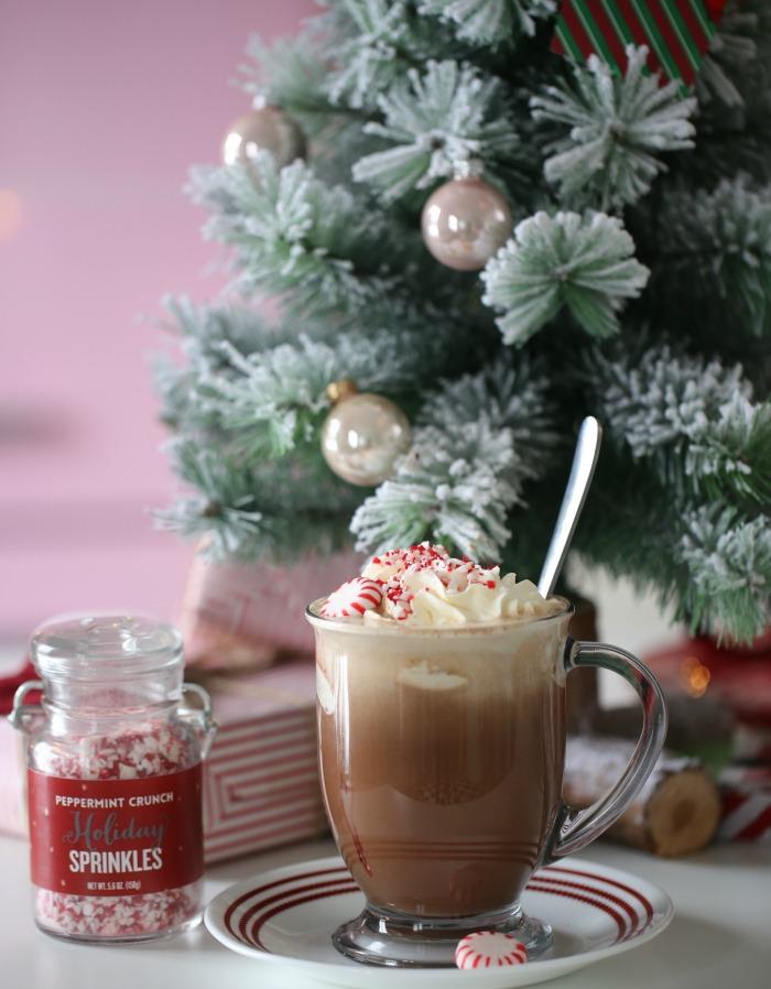 Homemade Starbucks Peppermint Mocha Latte Passion 4 Baking