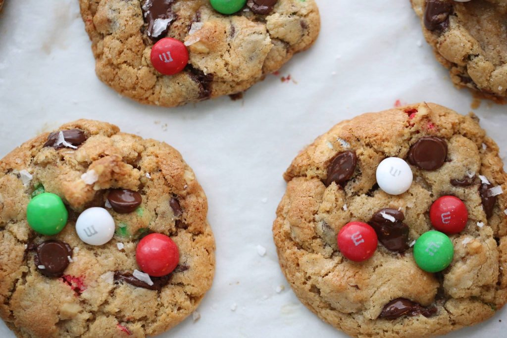 Mint M M Chocolate Chip Cookies Passion 4 Baking Get Inspired